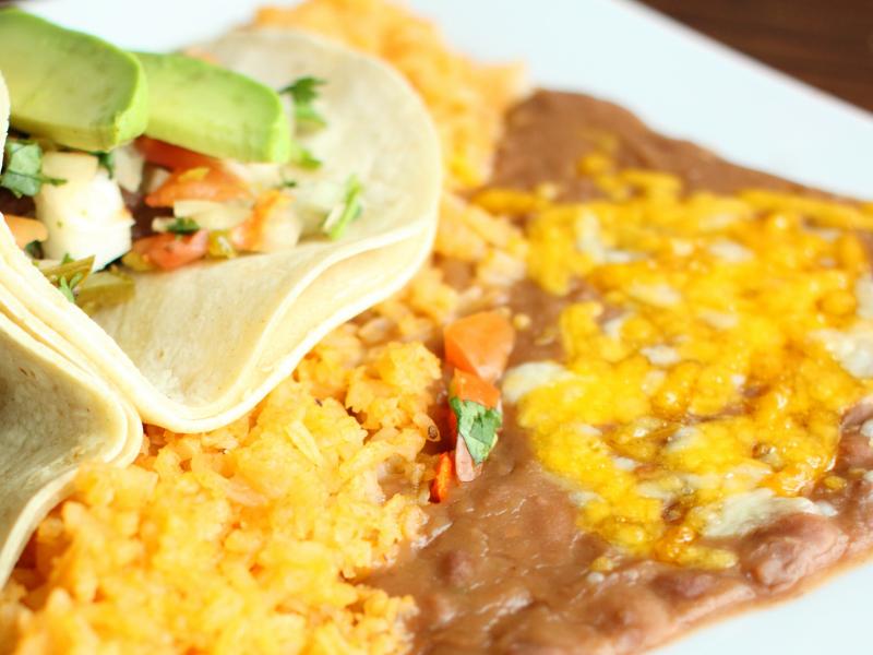 kids menu tacos