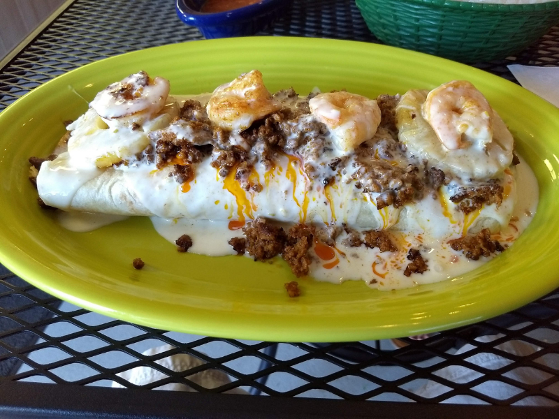 el ocho loco burrito