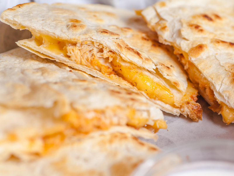 cheese quesadilla carry out
